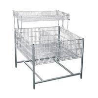 Стол для распродаж (накопитель) с регулируемым дном 0888 SDR