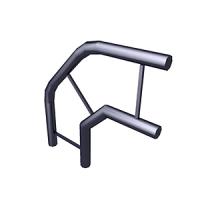 Угол 2-х труб вертикальный TS-4